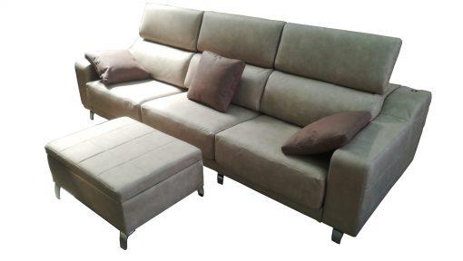 sofa estilo italiano reposacabezas abatibles