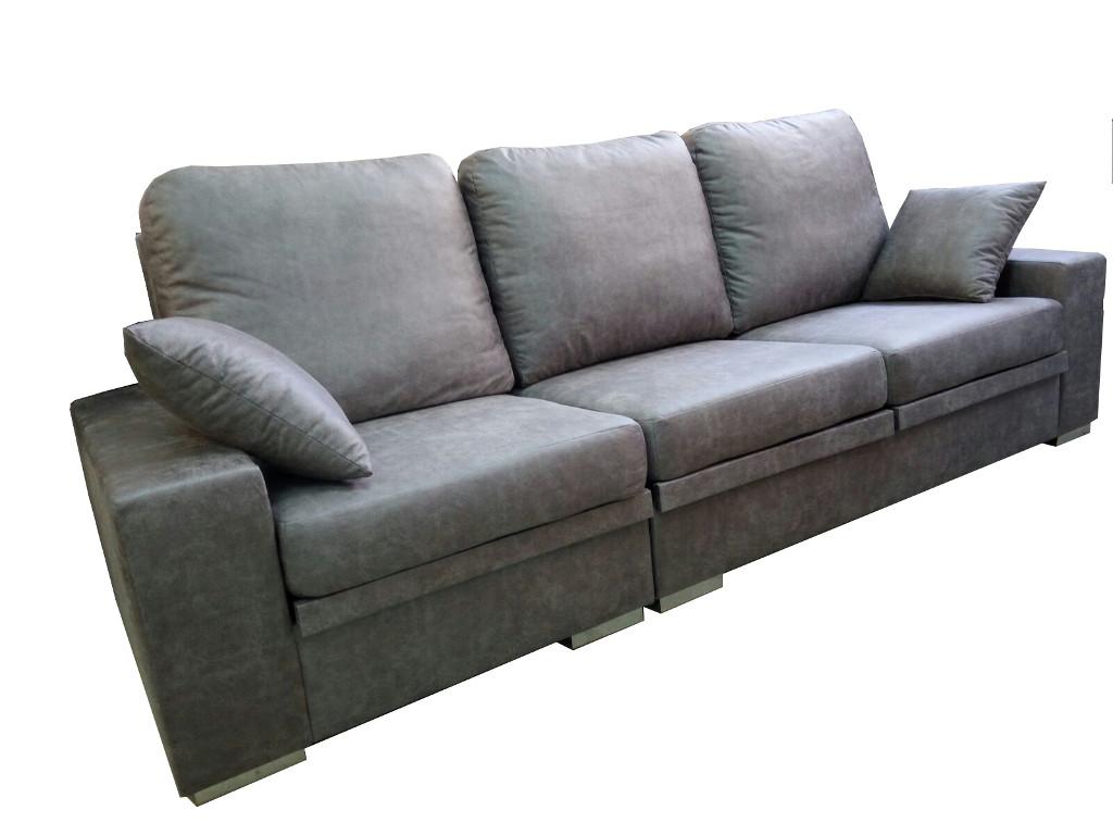 Sof chaiselongue con cojines grandes asientos - Cojines grandes ...