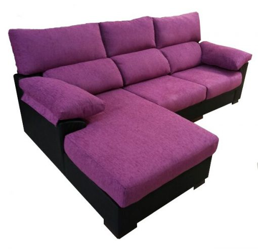 chaiselongue reposabrazos acolchado