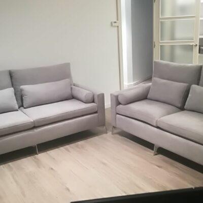 sofas con cojines rulos ulises