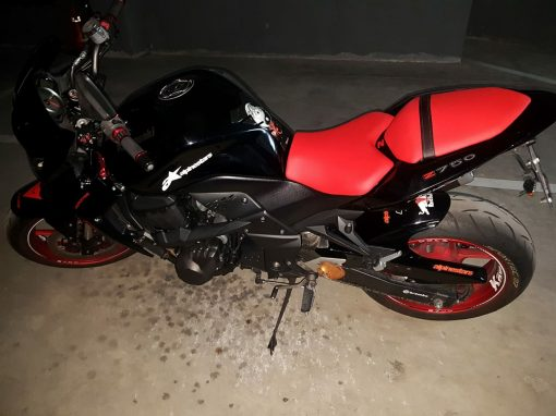 asientos moto retapizados