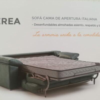 sofa cama nerea desplegado