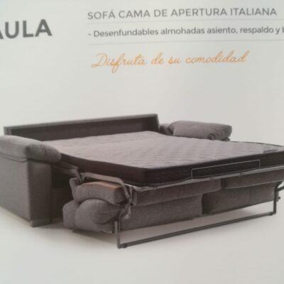 sofa cama paula desplegado