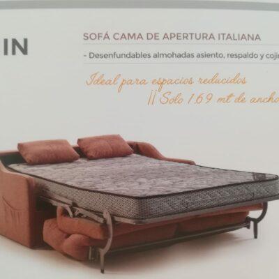 sofa cama rhin desplegado